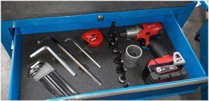 SMED szuflada narzędziowa